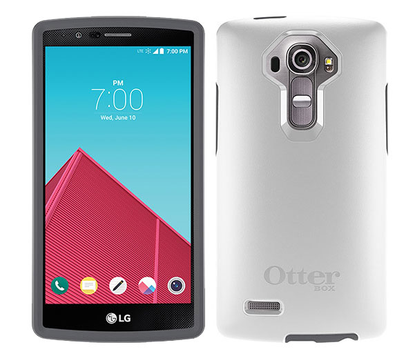 quality design 2f917 203c3 OtterBox Symmetry Case Features Smooth LG G4 - Otterbox Case Store